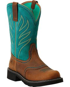 Ariat Probaby Flame Cowgirl Boots - Round Toe, , hi-res