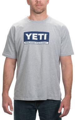 YETI Coolers Men's Billboard Logo T-Shirt, , hi-res
