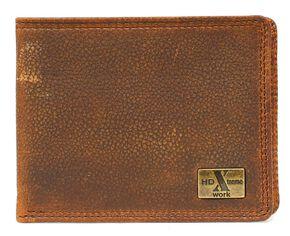Nocona HDX Bi-Fold Wallet, Briar, hi-res