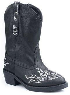 Roper Infant Girls' Bling Stitch Cowgirl Boots, , hi-res