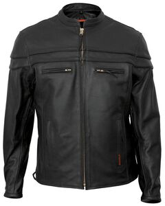 Interstate Leather Scooter Jacket - Big & Tall, , hi-res