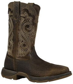 Durango Women's Lady Rebel Steel Toe Cowgirl Boots - Square Toe, , hi-res