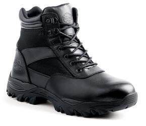 """Dickies Men's 6"""" Spear Steel Toe Electrical Hazard Boots, Black, hi-res"""