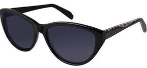 Realtree Women's Black Cateye Polarized Sunglasses, Black, hi-res
