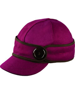 Stormy Kromer Women's Raspberry The Button Up Cap, , hi-res
