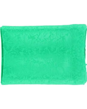Kelly Green Jacquard Silk Wild Rag, Kelly Green, hi-res