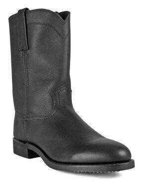 Frye Men's Roper 10R Boots - Round Toe, Black, hi-res