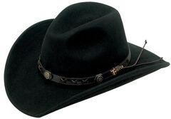 Twister Dakota Crushable Felt Hat, , hi-res