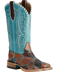 Ariat Women's Reese Patchwork Western Boots - Square Toe, , hi-res