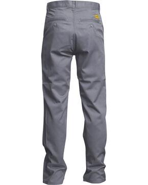 Lapco Men's Grey FR UltraSoft Uniform Pants - Straight Leg , Grey, hi-res