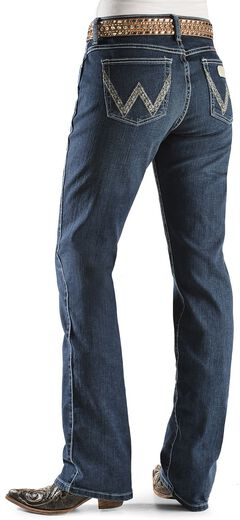 "Wrangler Jeans - Silver-Tone Stitching Ultimate Riding Jeans - 30""-36"", , hi-res"