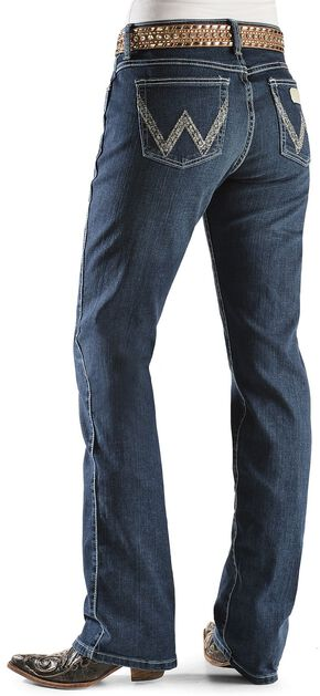 """Wrangler Jeans - Silver-Tone Stitching Ultimate Riding Jeans - 30""""-36"""", Denim, hi-res"""