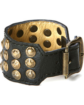 Frye Stud Cuff Bracelet, Black, hi-res