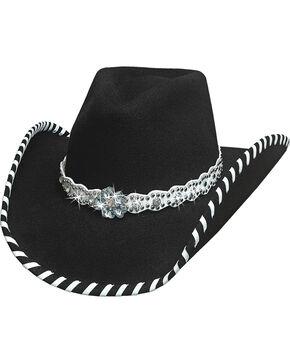 Bullhide Hats Women's Black See You Again Wool Felt Cowboy Hat, Black, hi-res
