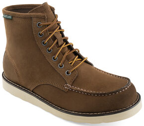 Eastland Men's Nutmeg Suede Lumber Up Boots , Brown, hi-res