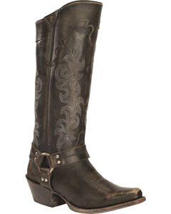 Frye Lily Harness Tall Boots - Square Toe, , hi-res