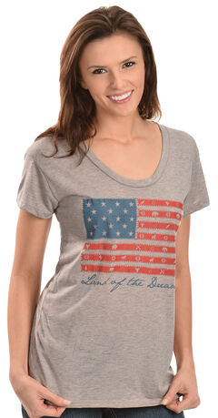 "ATX Mafia ""Land of the Dreamer"" American Flag Tee, , hi-res"