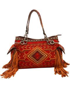 Blazin Roxx Indian Blanket Satchel Bag, , hi-res