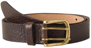 Mountain Khakis Vintage Bison Belt, Brown, hi-res