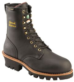 Chippewa Women's Oiled Waterproof & Insulated Logger Boots - Steel Toe, , hi-res