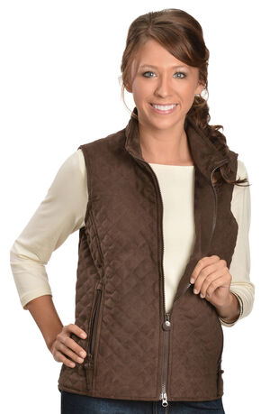 Outback Trading Co. Grand Prix Vest, Brown, hi-res