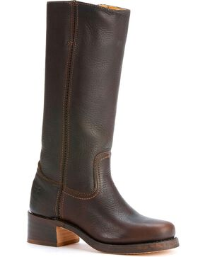 Frye Women's Campus 14L Boots - Square Toe, Brown, hi-res