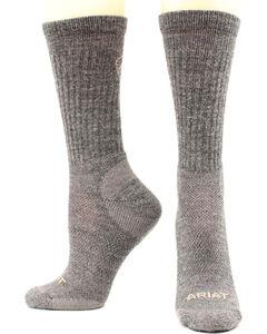 Ariat Men's Merino Light Hiker Socks, , hi-res