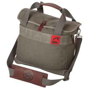 Mountain Khaki Olive Canvas Briefcase , Olive, hi-res