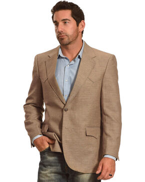Circle S Men's Fort Worth Sport Coat - Big & Tall, Camel, hi-res