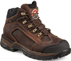 Red Wing Irish Setter Two Harbors brown Hiker Work Boots - Soft Toe , , hi-res