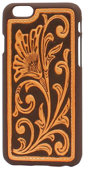 iPhone 6 Leather Scroll Case, Natural, hi-res