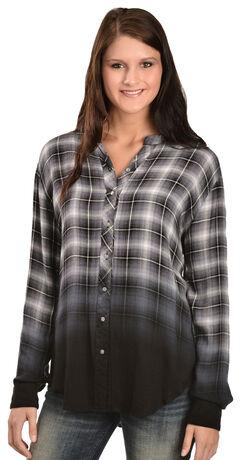 White Crow Women's Hour of Darkness Dip-Dye Shirt, , hi-res