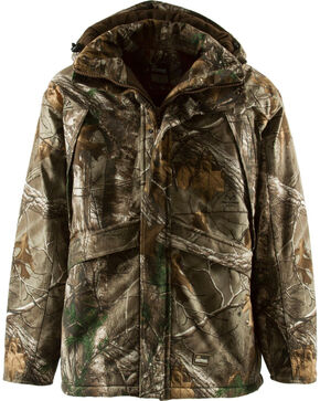 Berne Realtree Camo Blizzard Quilt Lined Coat - 3XL and 4XL, Camouflage, hi-res