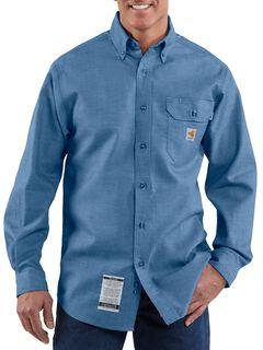 Carhartt Flame Resistant Chambray Work Shirt, , hi-res