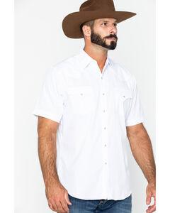 Ely Cattleman Tonal Dobby Striped Western Shirt, , hi-res