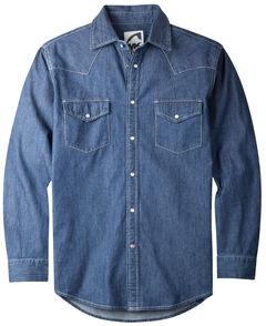 Mountain Khakis Men's Dark Indigo Original Mountain Denim Shirt , , hi-res