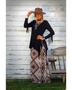 Tasha Polizzi Women's Teton Tunic , Black, hi-res