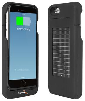 EnerPlex Surfr Solar Battery Case - iPhone 6 Black, Black, hi-res