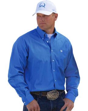 Cinch Solid Blue Shirt, Blue, hi-res