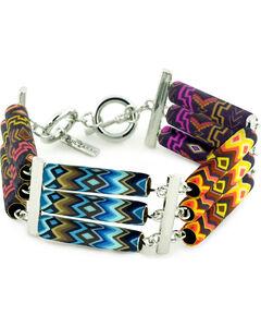 Jilzarah Santa Fe Tri-Tube Bracelet, , hi-res