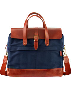 Timberland Nantasket Waxed Canvas and Leather Briefcase , , hi-res