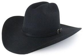 Cody James Denton 3X Pro Rodeo Wool Felt Cowboy Hat, Black, hi-res