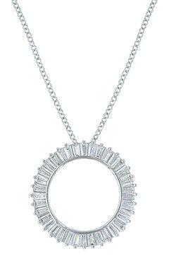 Montana Silversmiths Women's Twilight Halo Circle Necklace , , hi-res