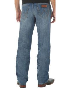 Wrangler Retro Men's Relaxed Fit Medium Wash Boot Cut Jeans - Big and Tall, , hi-res