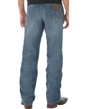 Wrangler Retro Men's Relaxed Fit Medium Wash Boot Cut Jeans - Big and Tall, Indigo, hi-res