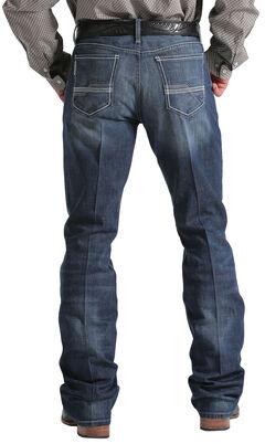 Cinch Men's Indigo Ian Mid-Rise Slim Fit Jeans - Boot Cut , , hi-res