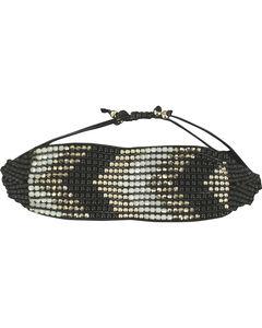 Blazin Roxx Beaded Chevron Bracelet, , hi-res