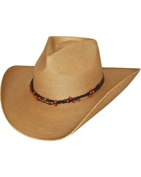 Bullhide Shaping The World Straw Cowgirl Hat, Natural, hi-res