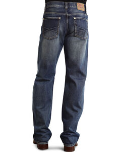 "Stetson Modern Fit Embossed ""X"" Stitched Jeans - Big & Tall, , hi-res"