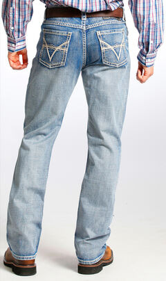 Tuf Cooper Men's Competition Fit Light Wash Straight Jeans , , hi-res